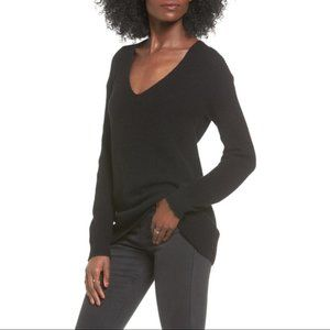 NWT BP Black Thick Knit Ribbed Sweater B41
